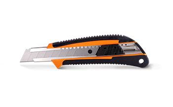 Нож прорезной, прорезиненный 0208 LT