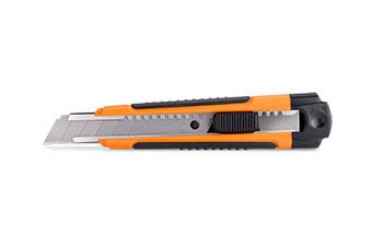 Нож прорезной, прорезиненный 0210 LT
