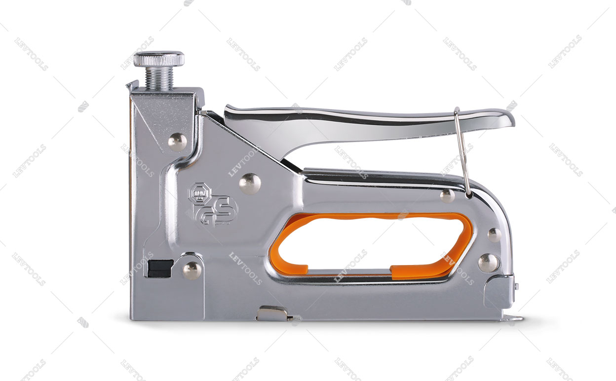 Степлер механический универсальный для прямоугольных скоб 4-14 мм, профессиональный