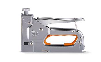 Степлер механический универсальный для прямоугольных скоб 4-14 мм, профессиональный LT