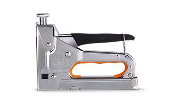 Степлер с усиленным ударным механизмом для прямоугольных скоб 4-14 мм, профессиональный LT